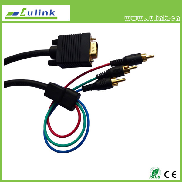VGA to 3RCA cable