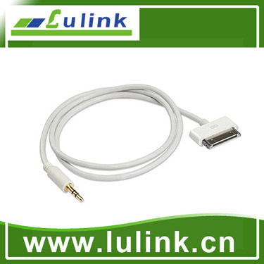 Car audio Aux 3.5mm USB cable for ipod iphone