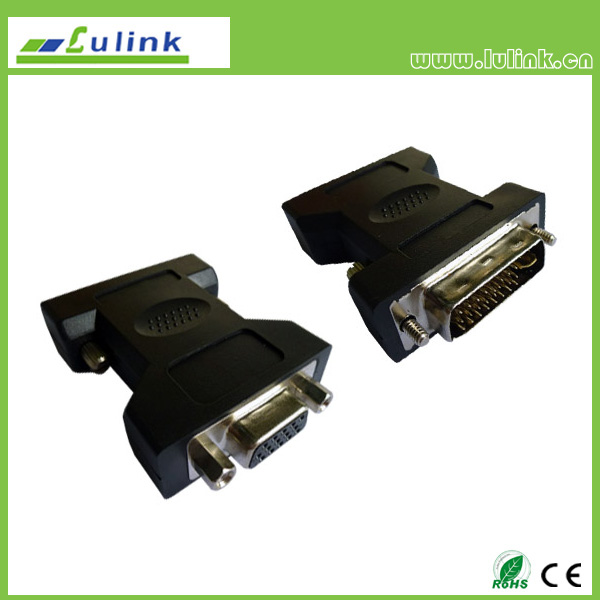 DVI(24+1) MALE TO VGA FEMALE Adapter