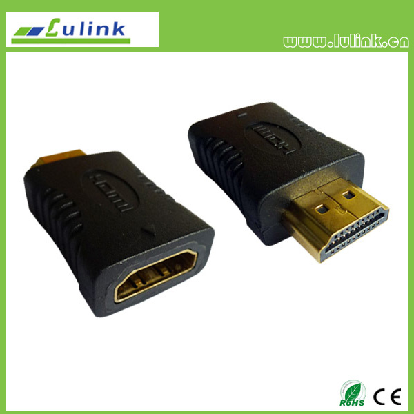 HDMI 19P Female to HDMI Male Adapter