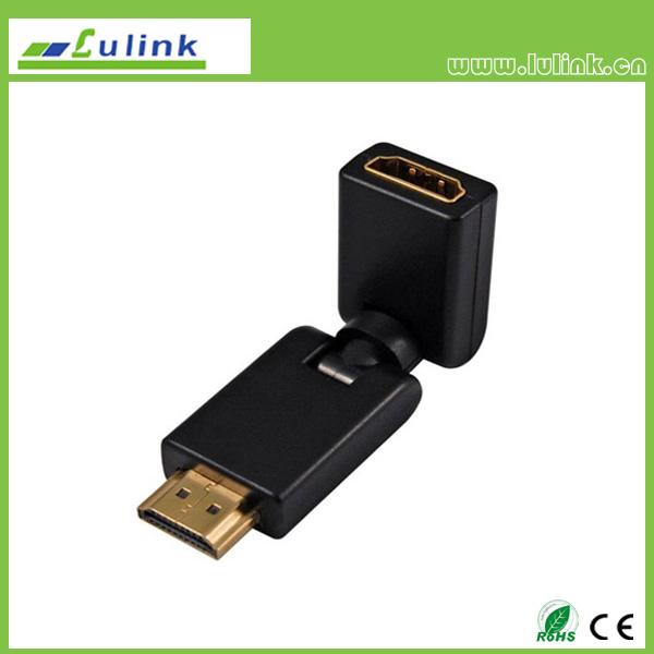 HDMI Male to  HDMI Female Adapter,360°