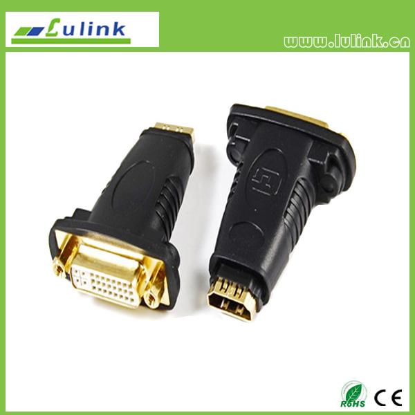 HDMI FEMALE TO DVI(24+5)FEMALE Adapter