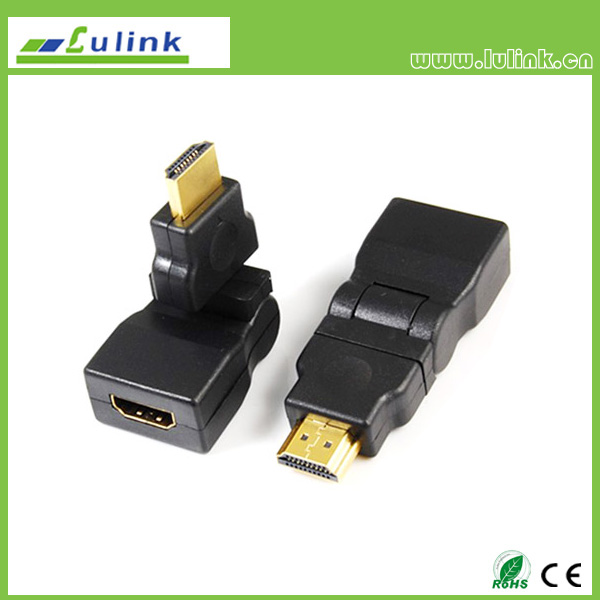 HDMI FEMALE TO HDMI MALE Adapter,90°