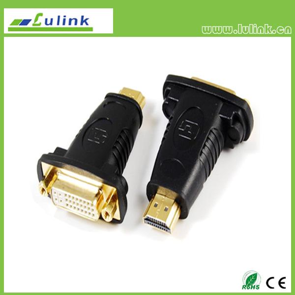 HDMI MALE TO DVI(24+5) FEMALE Adapter