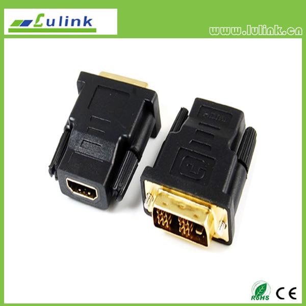 HDMI FEMALE TO DVI(18+1) MALE Adapter