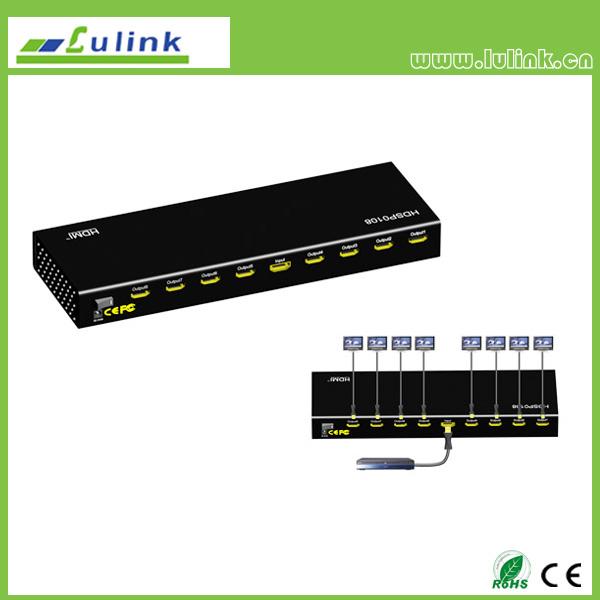 mini 1x8 HDMI Splitter
