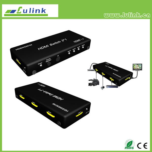3x1 HDMI Switcher