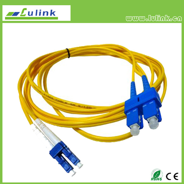 LK03LCSC102   LC/UPC-SC/UPC Duplex Fiber Optic Patch Cord