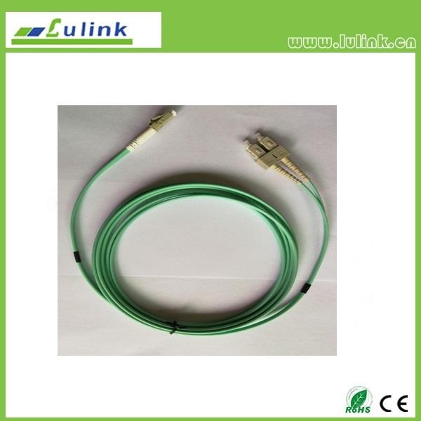 LK03SCFC102   LC/UPC-SC/UPC Duplex Fiber Optic Patch Cord