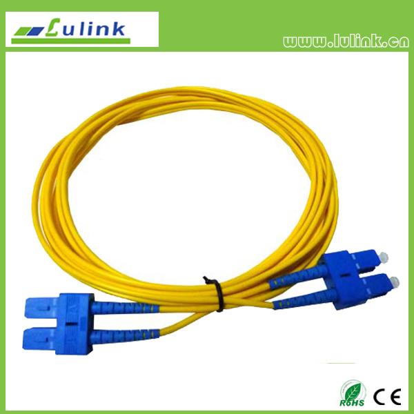 LK03SCSC102   SC/UPC-SC/UPC Duplex Fiber Optic Patch Cord
