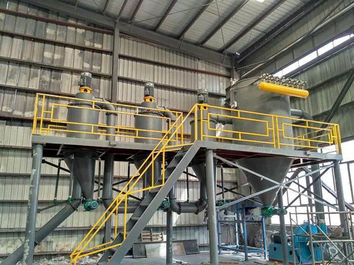 新疆某金属硅气流分级机KFF-400-3