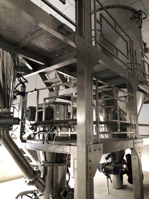 粉末冶金惰性氣體保護氣流粉碎機