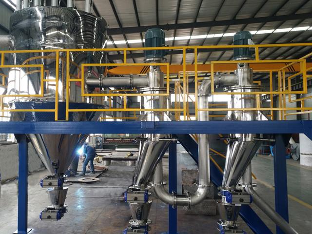 聚合物分散、分级设备
