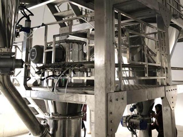 粉末冶金惰性气体保护气流粉碎机