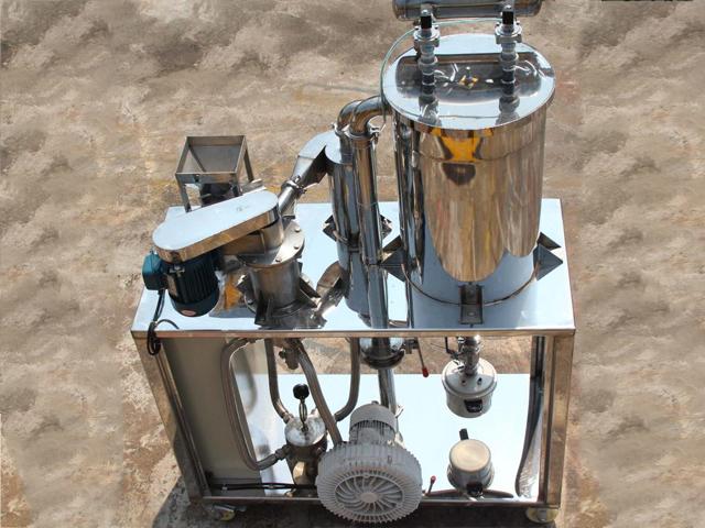 金刚石微粉专用粉碎、整形设备