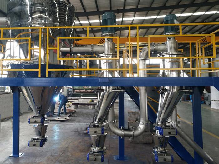 山东某硬质合金气流分级机KFF-200-2
