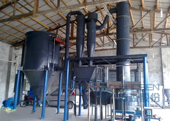 四川碳化硅微粉流化床闪蒸干燥设备