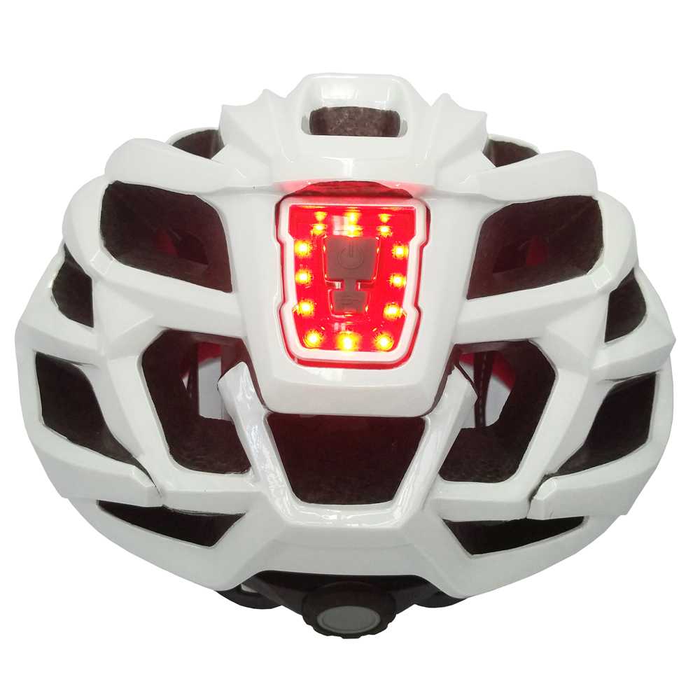 B3-26L Bicycle Helmet with rear LED warning light