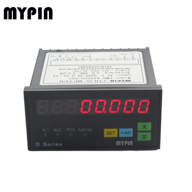 WH series 8 digits 1/3 phase power/KWH meter