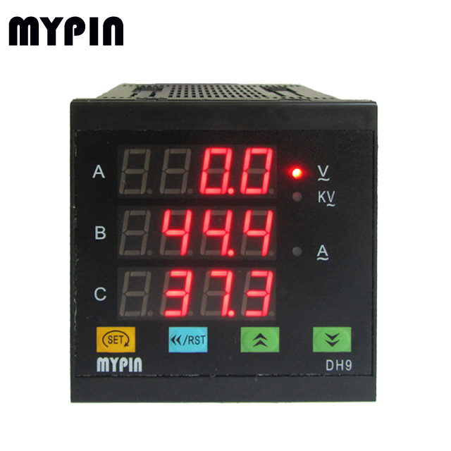 DH series RMS 4 digits ampere & voltage Indicator