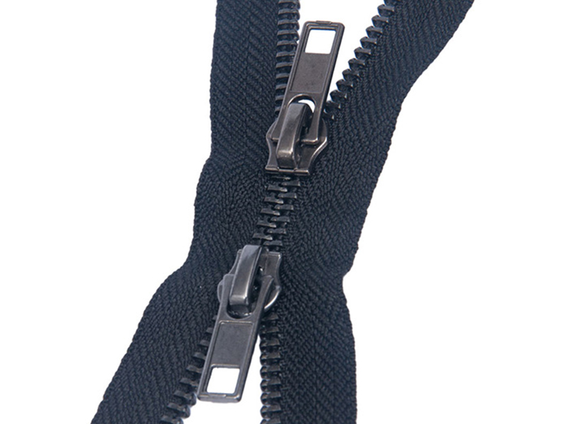 5# gram up and down pull metal zipper