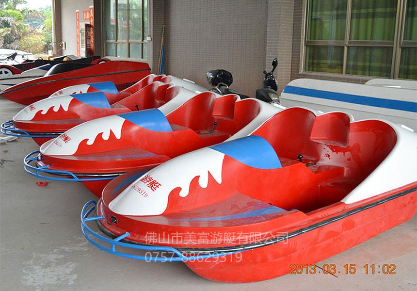 新款2-3人脚踏船B款