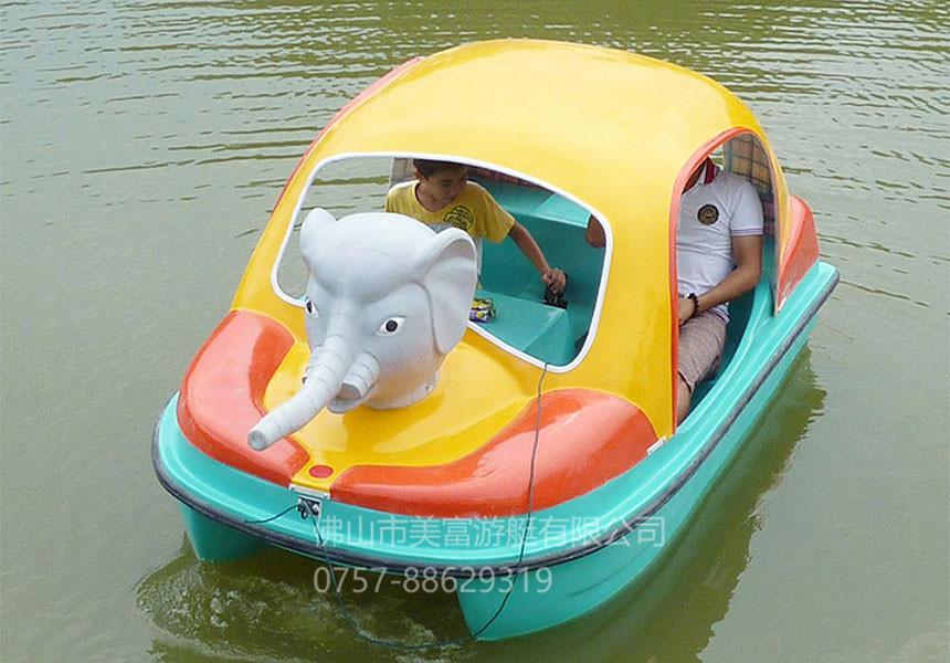 象鼻子2人脚踏船