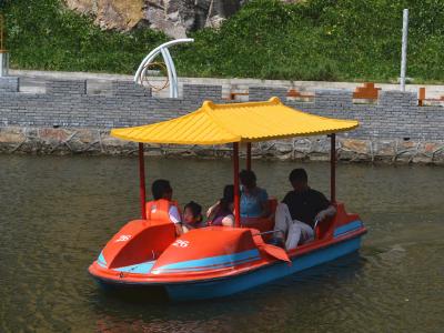 仿古脚踏船