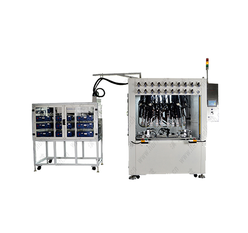 19 point ultrasonic riveting machine