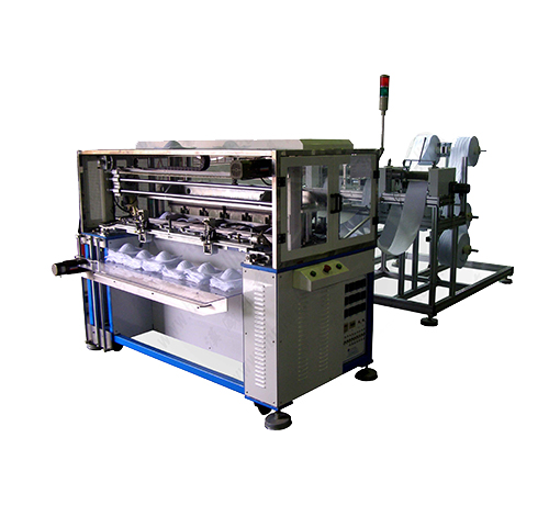 Cup mask shaping machine