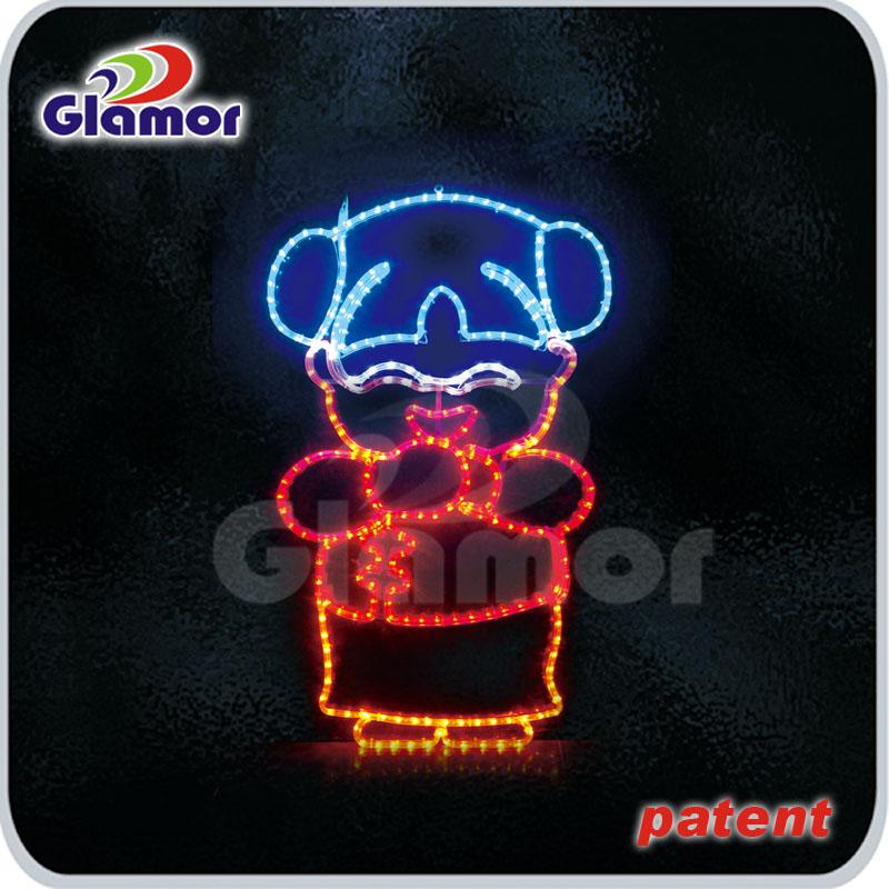 LED金童玉女灯画造型
