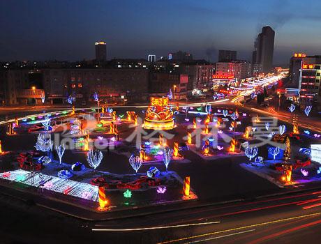 天津滨海新区汉沽区滨河广场