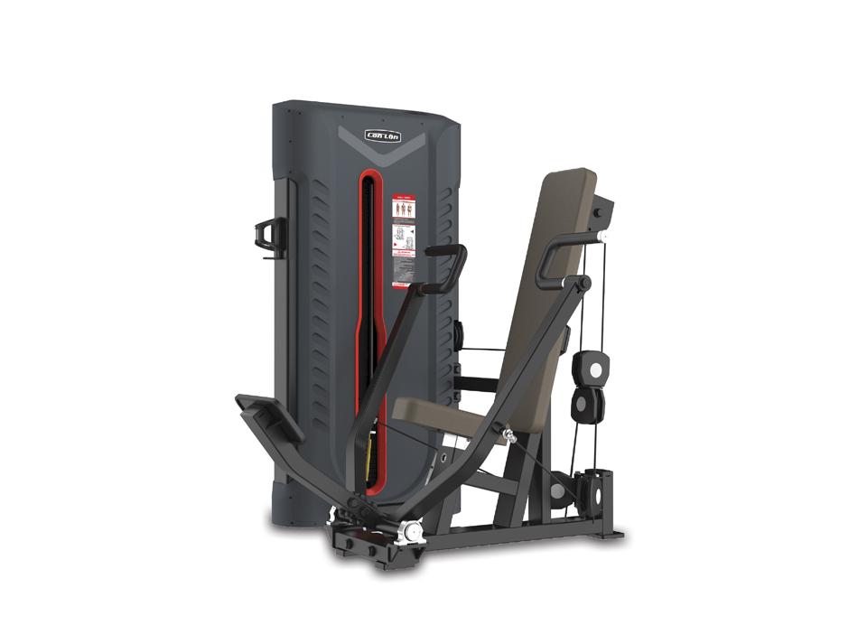 FA9001坐姿推胸训练器