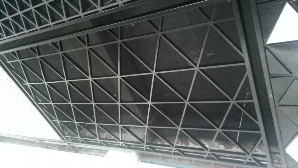 薄片三角格栅天花