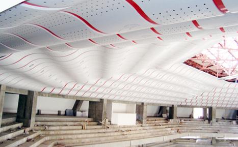 體育館造型天花