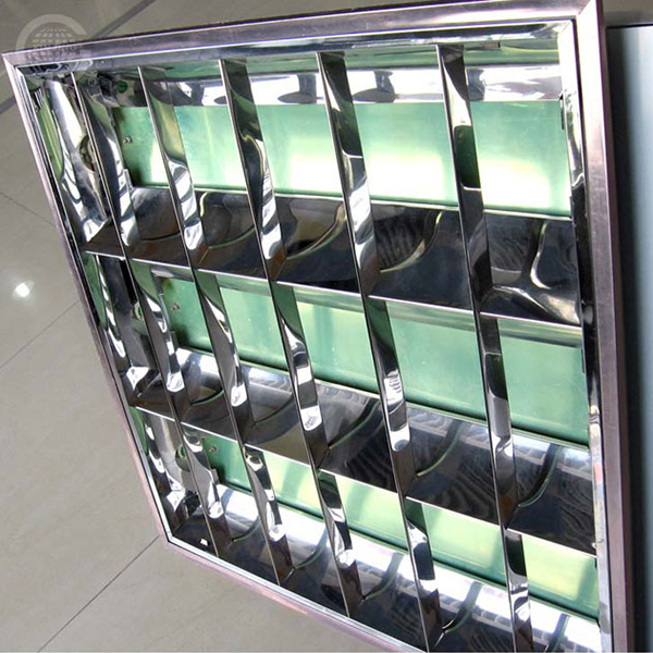 Stainless steel lamp tray