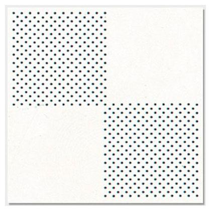 四方對角花彩鋁板
