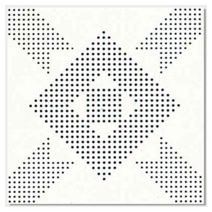 四角花衝孔彩鋁板