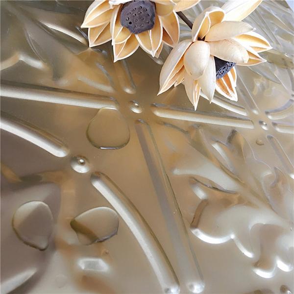 海棠花立體方板