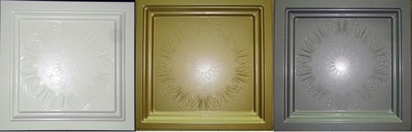 方型壓花浮雕天花板