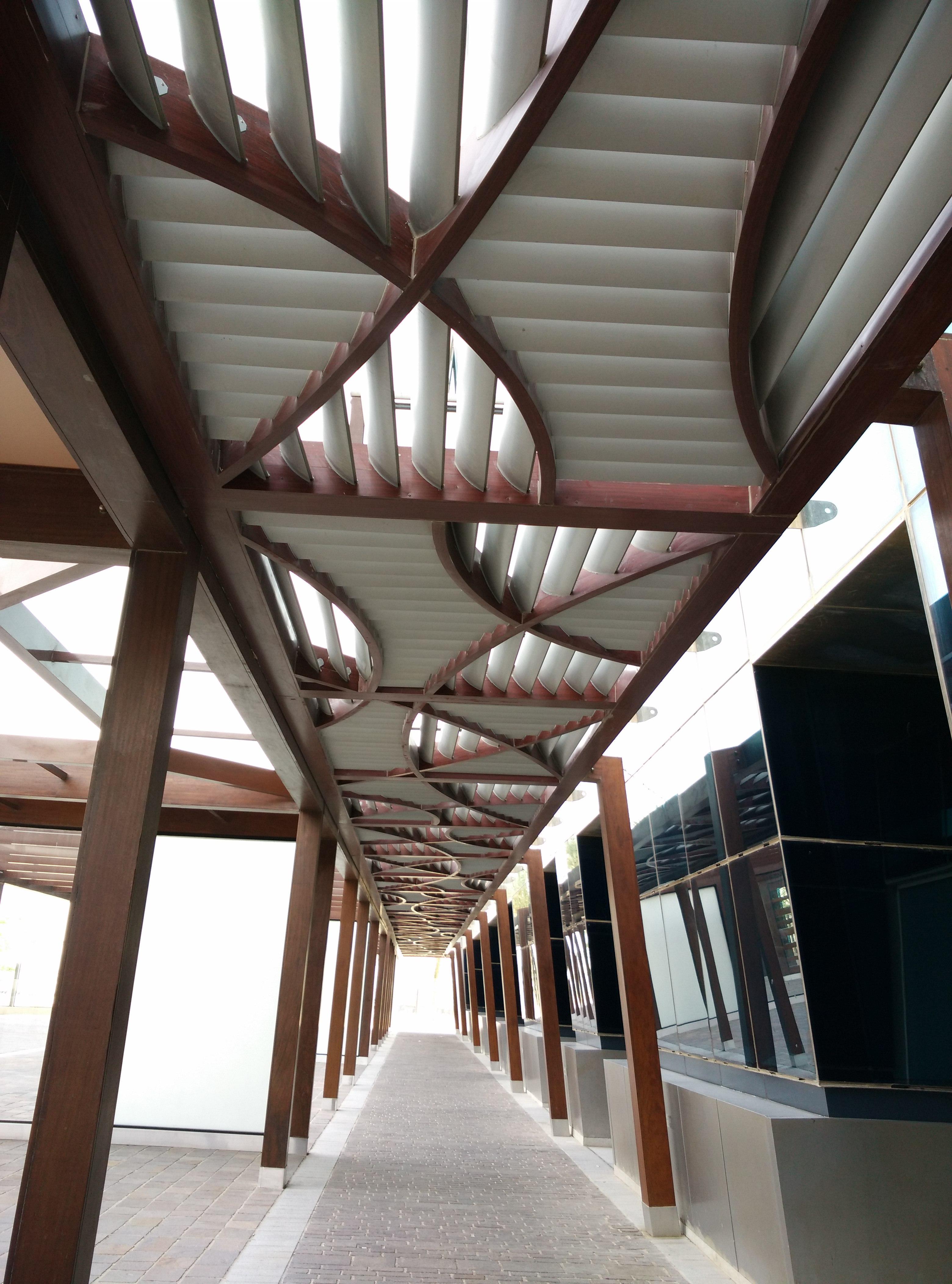 多哈組合百葉走廊