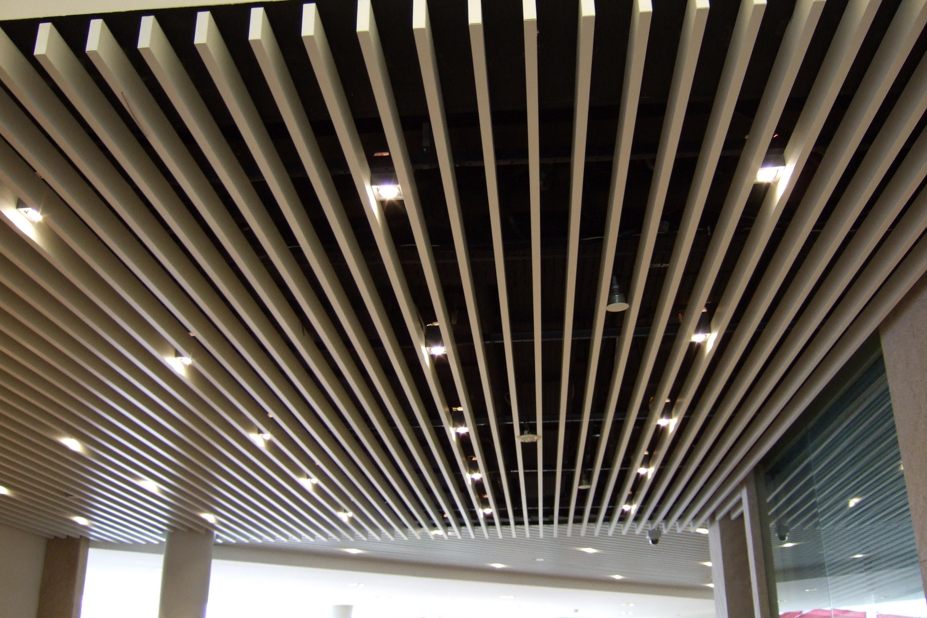 square screen ceiling