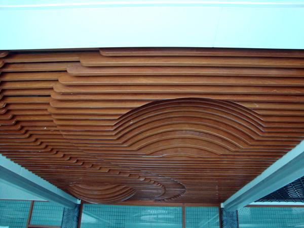 Monolithic hanging series