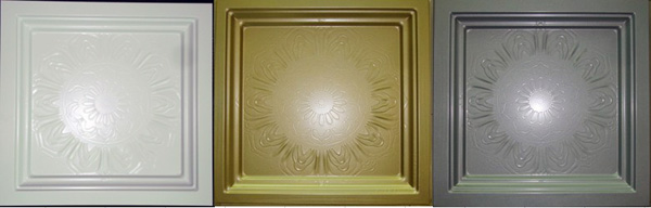 Square punching, carving, stamping, metal ceiling, embossed relief ceiling