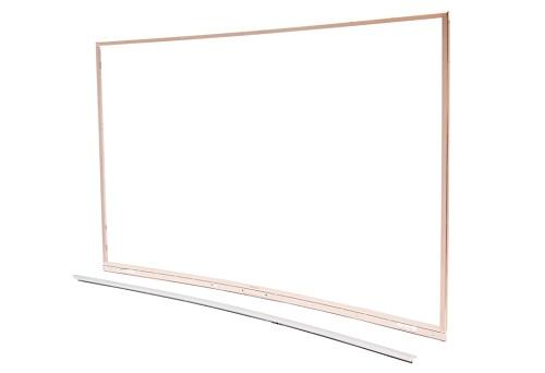 曲面电视框