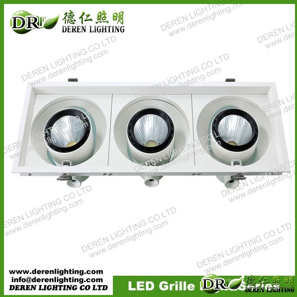 LED Grille Light COB 20W, 20Wx2, 20Wx3