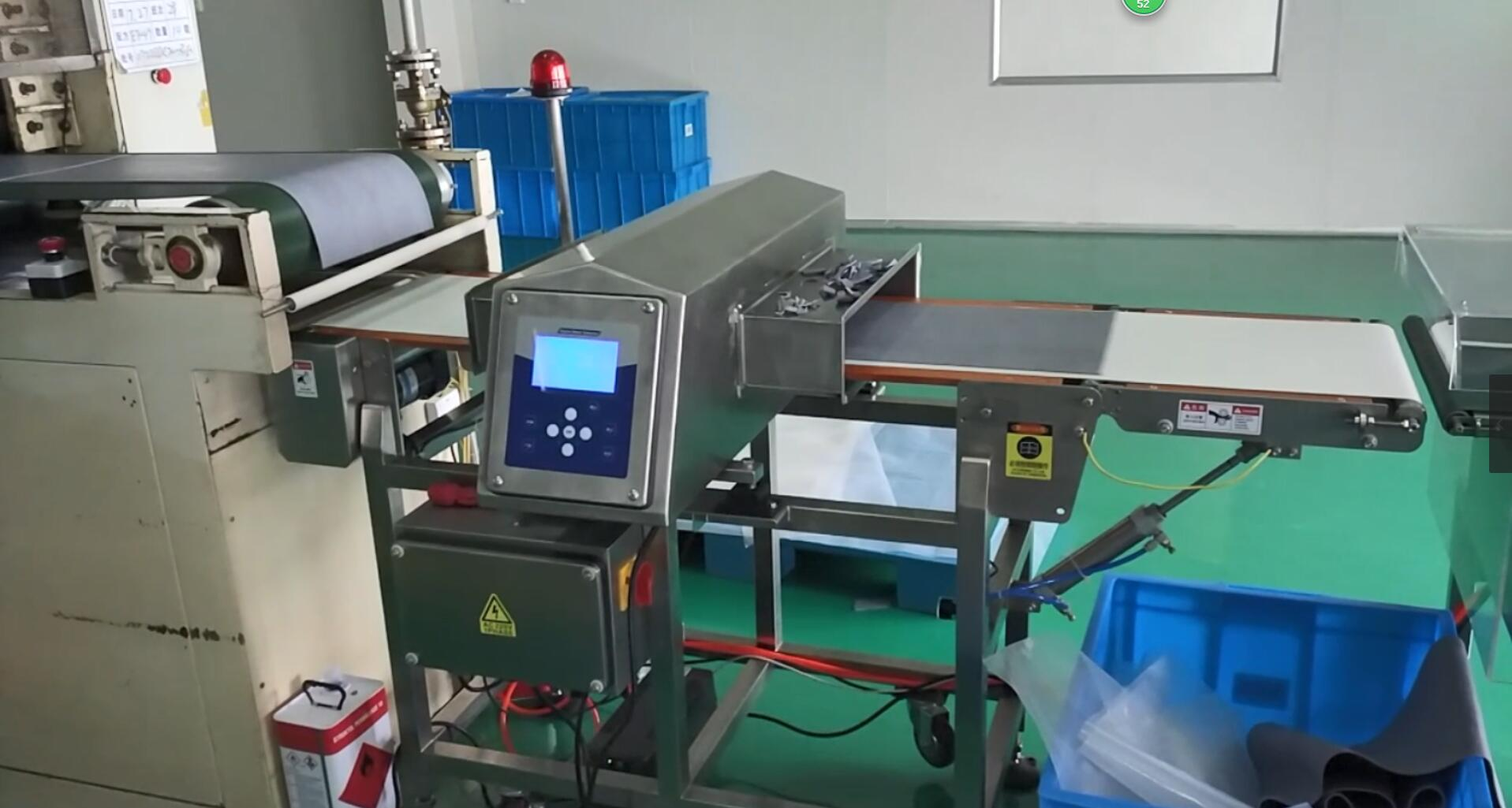 S Series Conveyor Metal Detector for Deoxidant and Aluminum Laminated Films