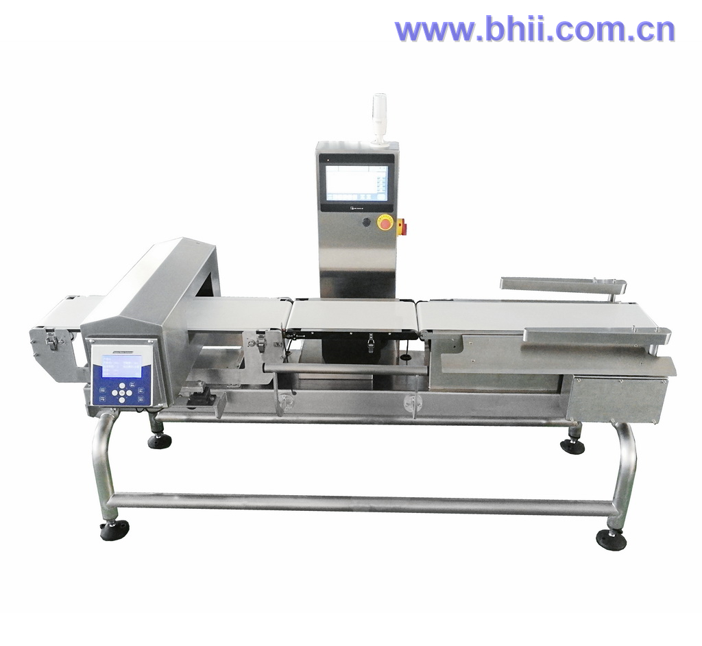 Combo - Metal Detector Checkweigher (Independent HMIs) for food/poultry/confectionary/tobacco