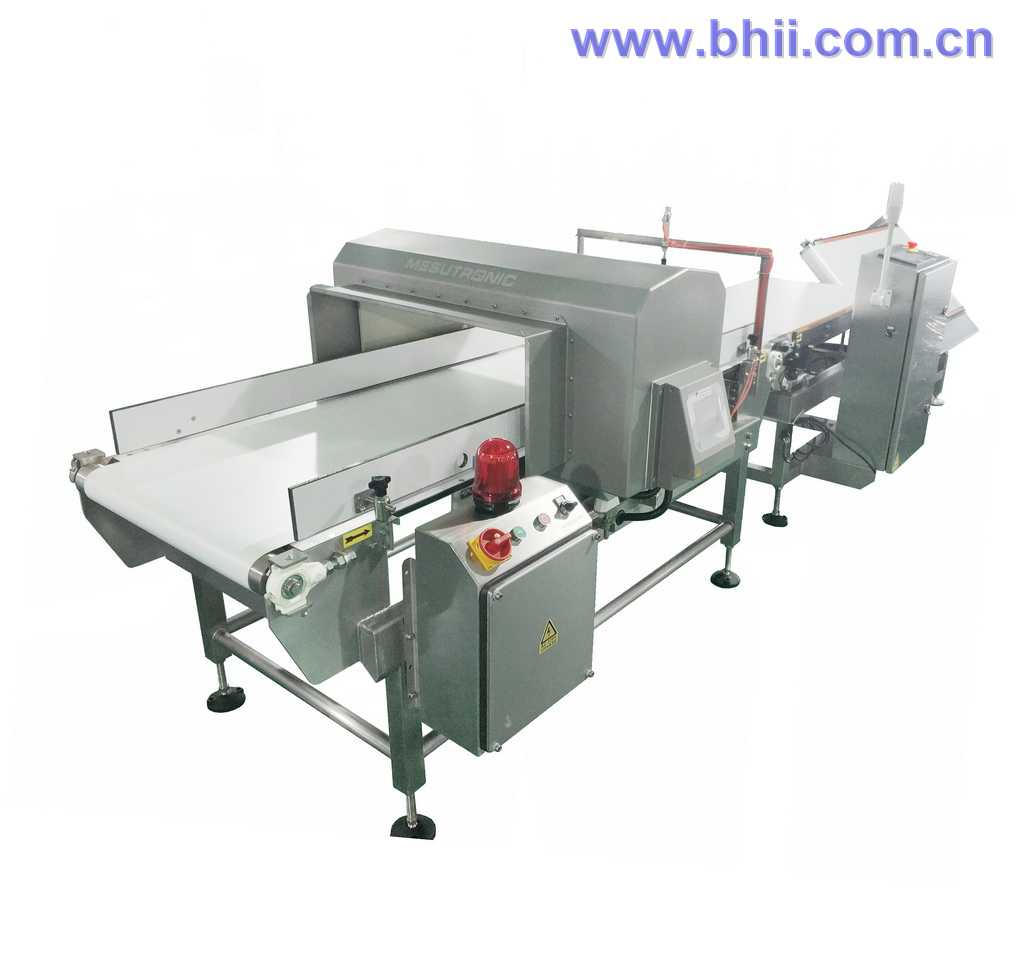 Heavy Duty Combo Checkweigher Metal Detector with Flap Rejection