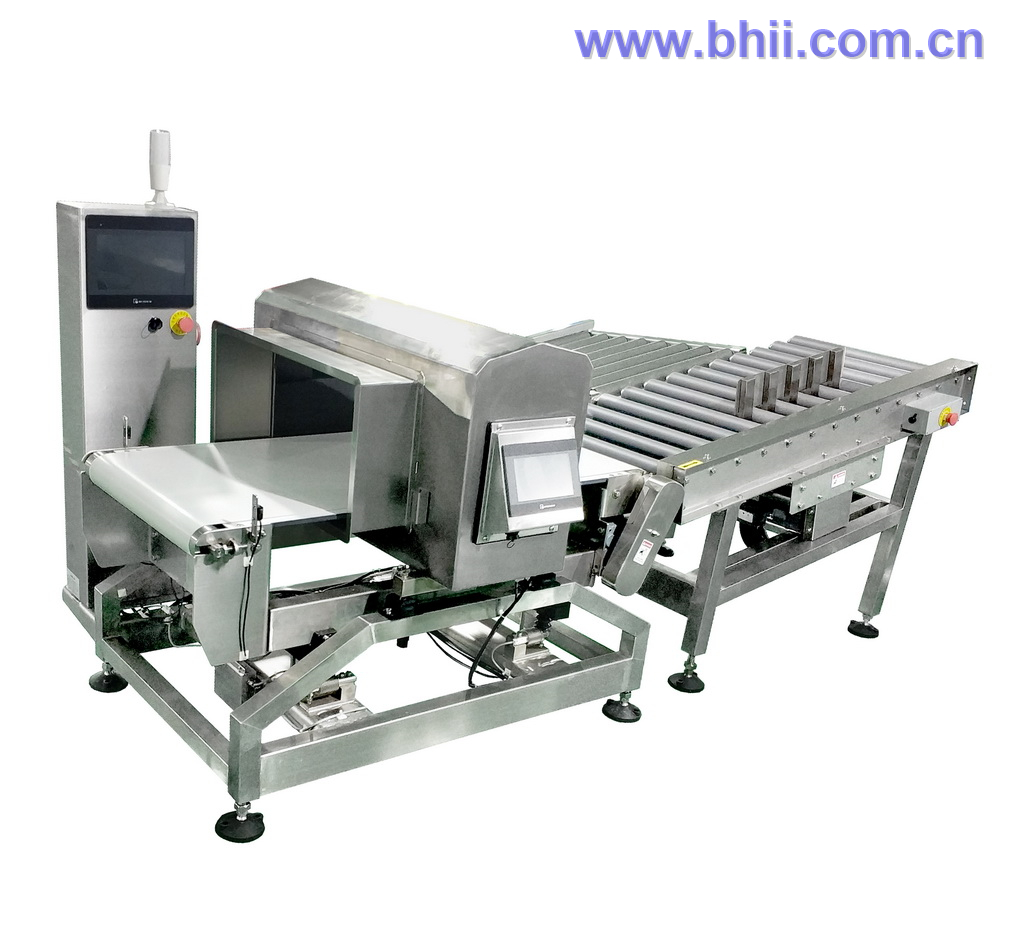 25kg Combo - Checkweigher Metal Detector with Pneumatic Pusher Rejection